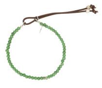 Armband mit Jadeperlen