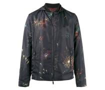 Wendbare Jacke mit Feuerwerks-Print - men