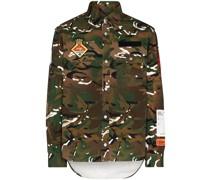 Hemd mit Camouflagemuster