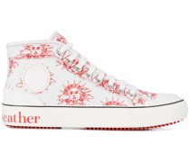 'We Are The Weather' High-Top-Sneakers