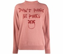 Pullover mit Slogan-Print