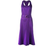 - Ausgestelltes Kleid mit Gürtel - women