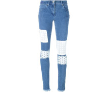 - Skinny-Jeans mit Patches - women