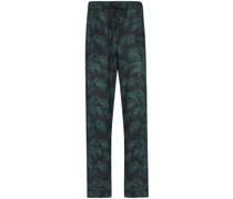 Pyjama-Hose mit Palmen-Print