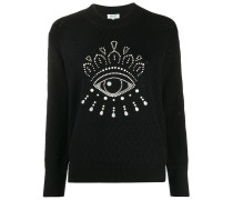 Verzierter 'Eye' Pullover