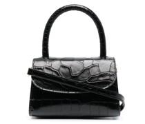 Mini-Tasche mit Kroko-Effekt