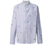 Tropic Ice striped shirt