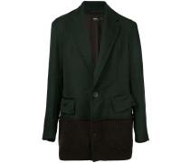 Zweifarbiger Mantel