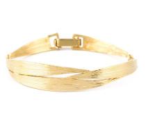 'Bamboo' Armband aus 18kt vergoldetem Sterlingsilber