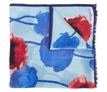 Seidenschal mit Blumen-Print - women