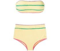 'Manu e Fran' Bikini mit Häkeldetails