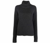 purl-knit roll-neck jumper