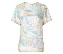 printed T-shirt blouse