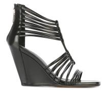 'Mignon' Sandalen mit Keilabsatz
