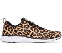 'Iconi' Sneakers mit Leo-Print