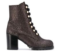 Ivey metallic tweed boots