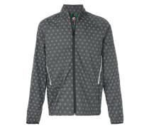 printed zip up jacket
