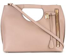 Handtasche mit Cut-Out-Henkeln