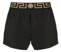 Shorts mit Greca-Detail