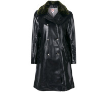 Sinclaur faux leather coat
