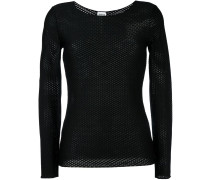 honeycomb knit top