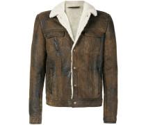 shearling lined jacket