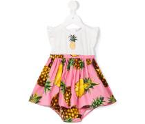 Kleid mit Ananas-Print
