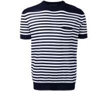 Gestreiftes T-Shirt - men - Baumwolle - 48
