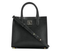 Kleine Handtasche mit Logo