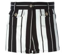 Gestreifte Shorts - women - Baumwolle/Elastan