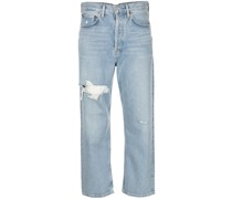 Cropped-Jeans im 90s-Style