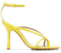 Sandalen mit Knöchelriemen, 90mm