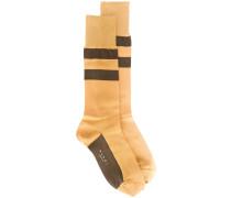 Socken mit Streifen - women - Seide/Nylon - M/L