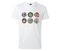 T-Shirt mit Kreise-Print