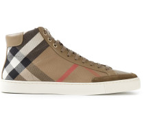 'Haymarket check' High-Top-Sneakers