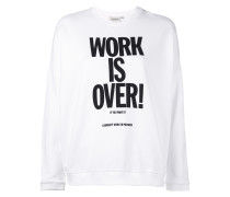 Ellery slogan sweatshirt - women