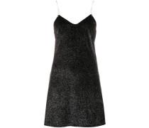 Camisole-Kleid mit Glitter-Effekt