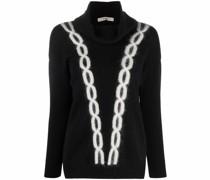 Pullover mit Kettendetail