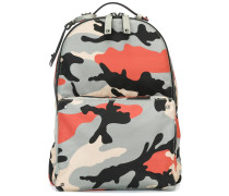 'Rockstud' camouflage backpack