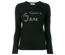 'Je t'aime Jane' Wollpullover