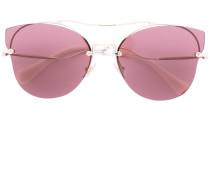 Rahmenlose Cat-Eye-Sonnenbrille