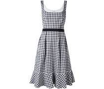 Ausgestelltes Kleid - women - Baumwolle/Elastan