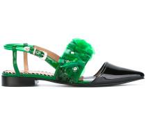 Sandalen mit Paillettenverzierung