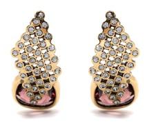 Ohrringe mit Kristallen