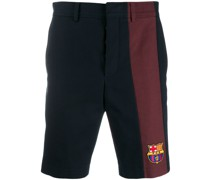 Chino-Shorts mit FCB-Patch