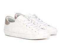 Sneakers mit GlitzerLogo