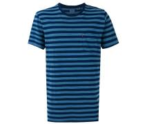 - Gestreiftes T-Shirt mit Brusttasche - men