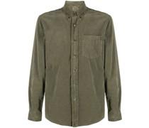 corduroy long-sleeved cotton shirt