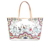 - Handtasche mit Zoo-Print - women
