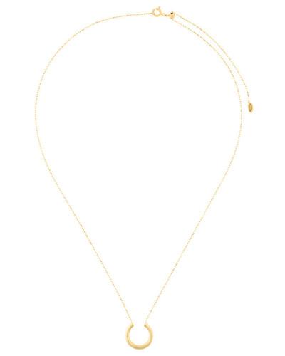 Vergoldete 'Loom' Sterlingsilber-Halskette